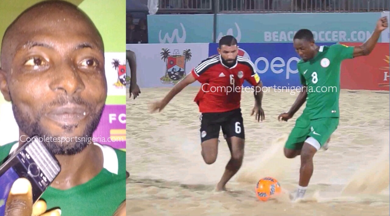 Sand Eagle, Azeez: Great To Bounce Back From Copa Lagos Defeat And Beat Egypt
