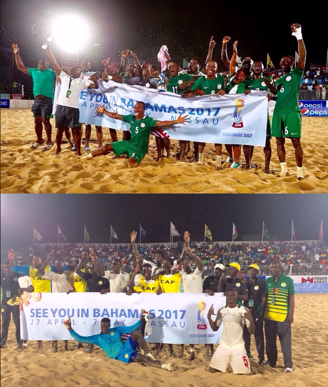 Beach AFCON Final: Sand Eagles Fight For 3rd Title, Senegal Seek 4th