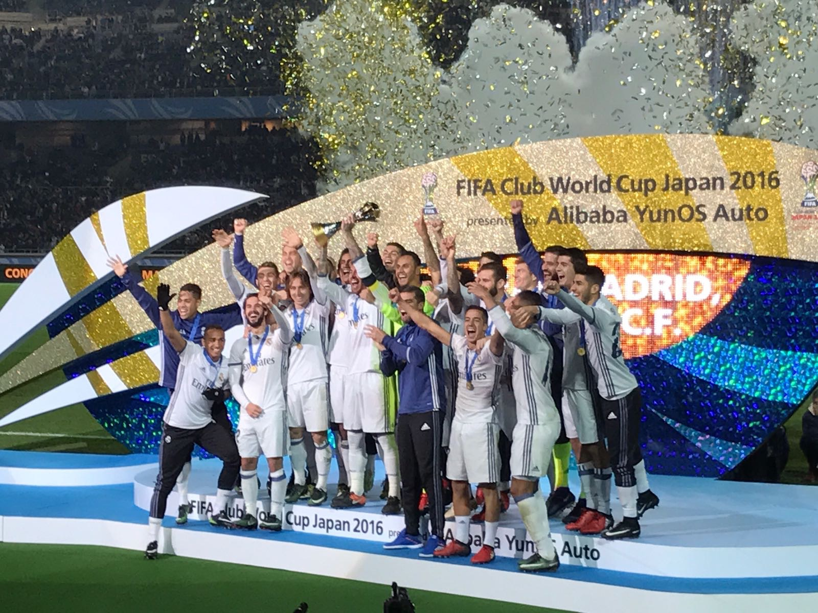 Ronaldo's Hat Trick Fires Madrid To FIFA Club World Cup Title