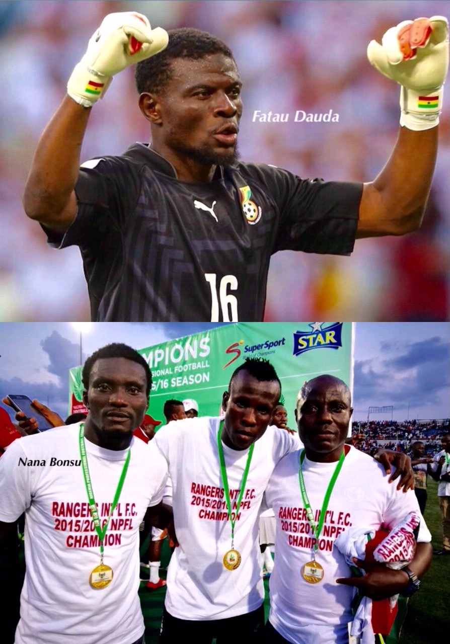 Rangers Goalie, Bonsu Welcomes Ghanaian Mate Dauda To NPFL