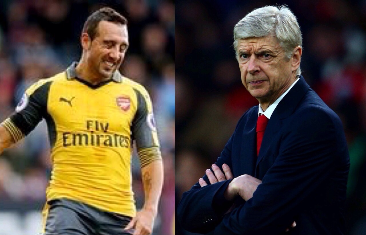 Wenger Misses Injured Carzola, Insists Arsenal Won't Buy Replacement