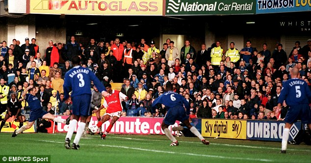 Kanu Hat-trick Vs Chelsea Rated No.1 In EPL
