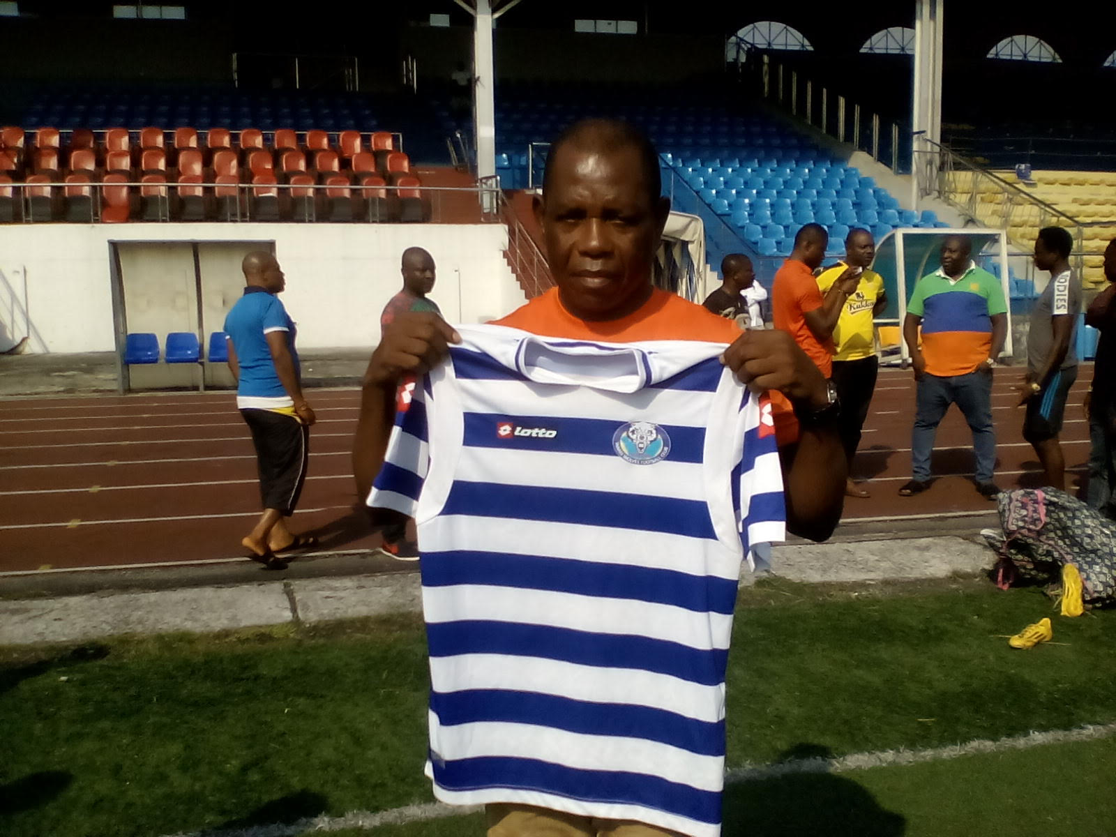 Relegated WarrI Wolves Unveil Chukwuma As New Coach