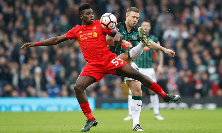 FA Cup: Ojo, Ejaria Start As Fourth-Tier Plymouth Hold Liverpool