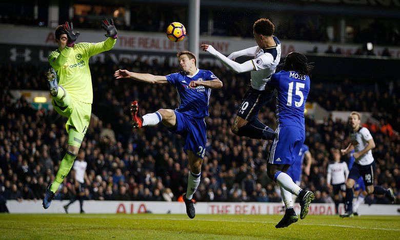 Moses Struggles As Alli Brace Ends Chelsea's Record Run