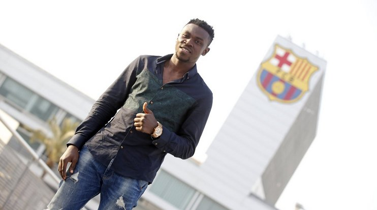 Bassey Ezekiel Eager To Impress At Barcelona