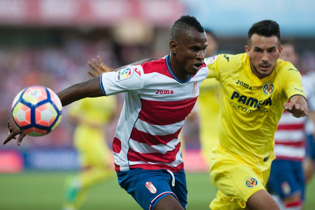 Agbo Sent Off In Granada Draw, Ajagun Falls With Roda