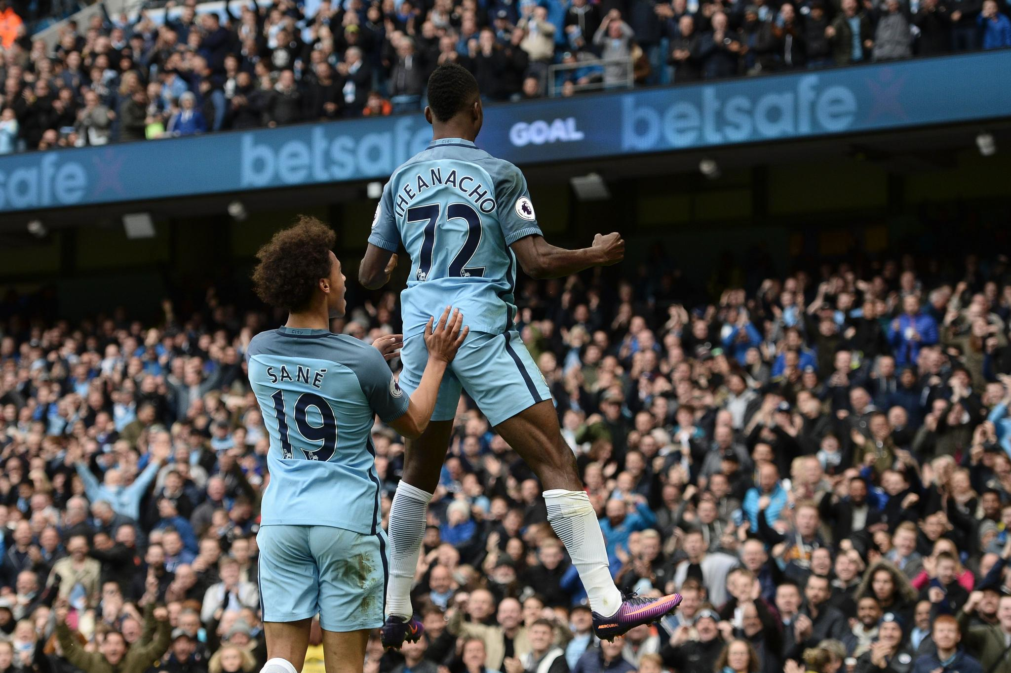 FA Cup: Iheanacho Scores As Man City Rout Huddersfield