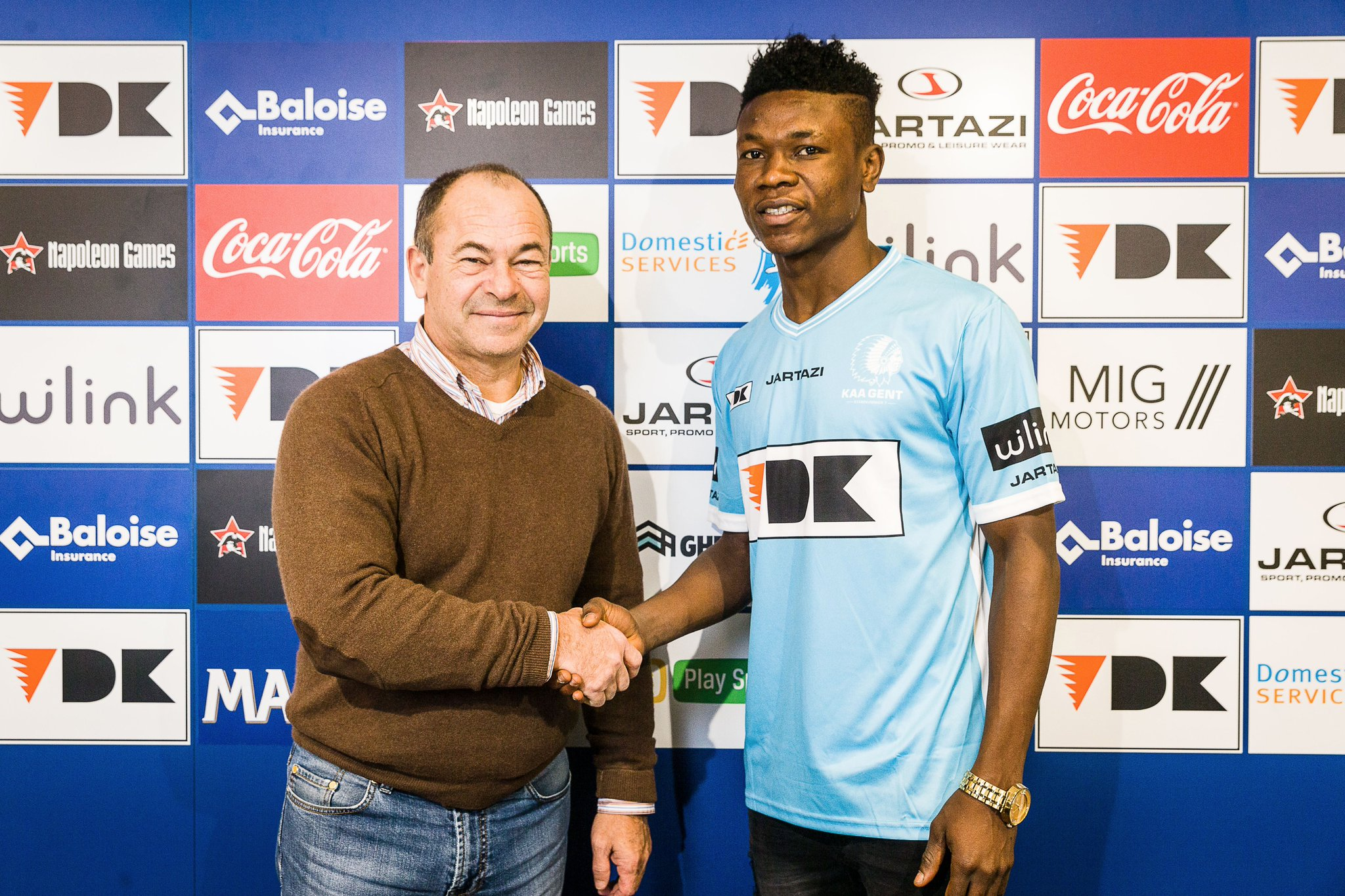 Samuel Kalu Joins Gent From AS Trencin