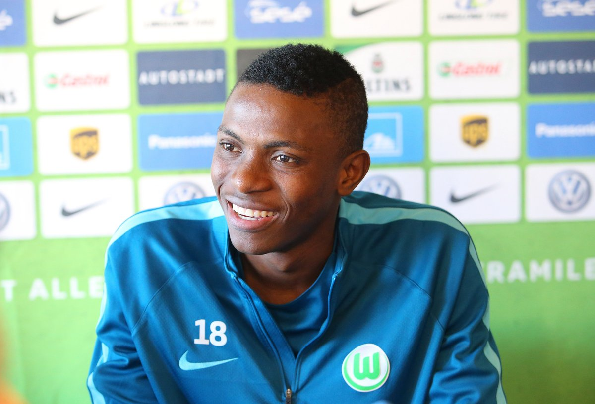 Osimhen Officially Presented By Wolfsburg, Vows To Work Hard