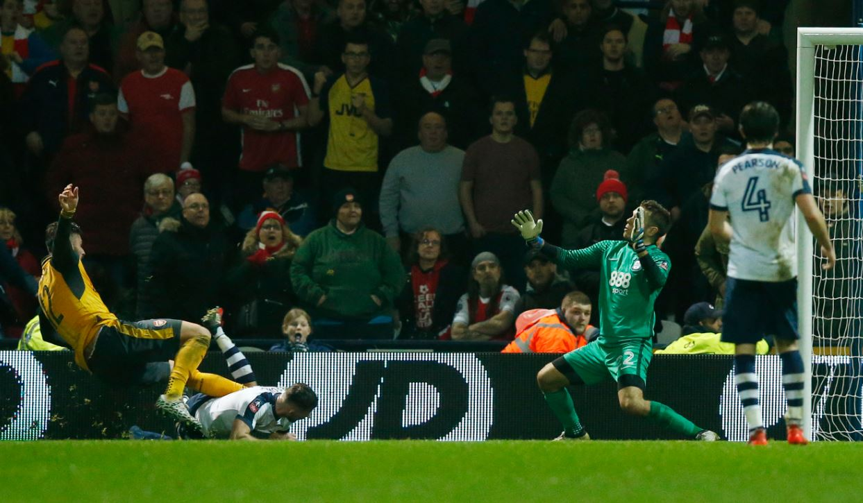 FA Cup: Iwobi Shines As Giroud Winner Sends Arsenal Through
