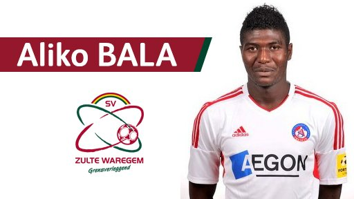 Belgian Club, Zulte Waregem Signs Nigerian Midfielder Bala From Trencin