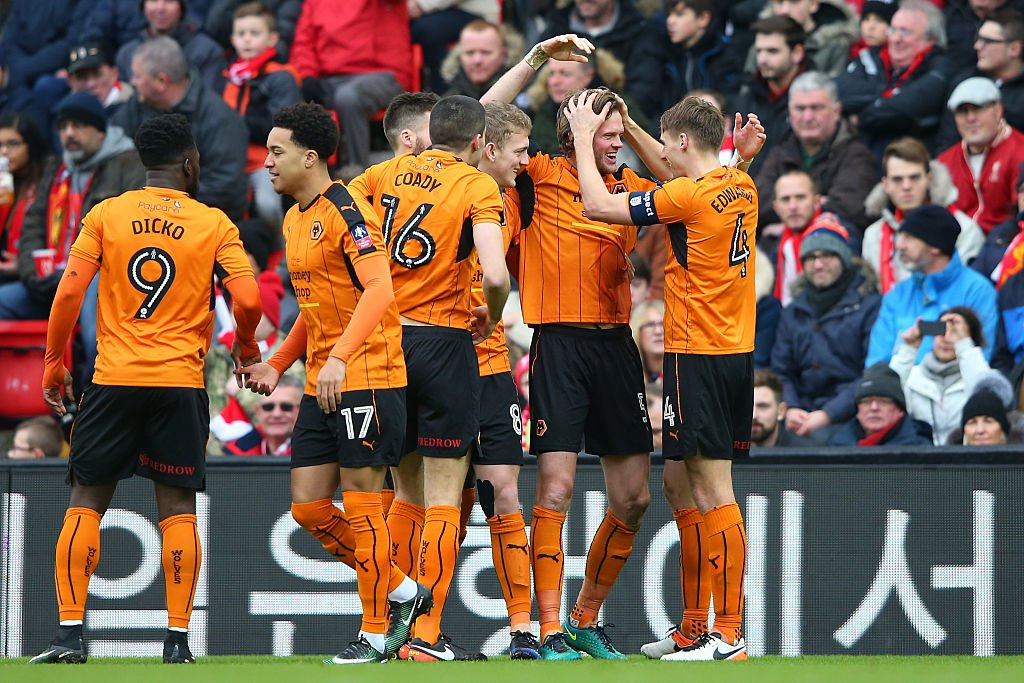 FA Cup: Ikeme Out As Wolves Knock Liverpool Out