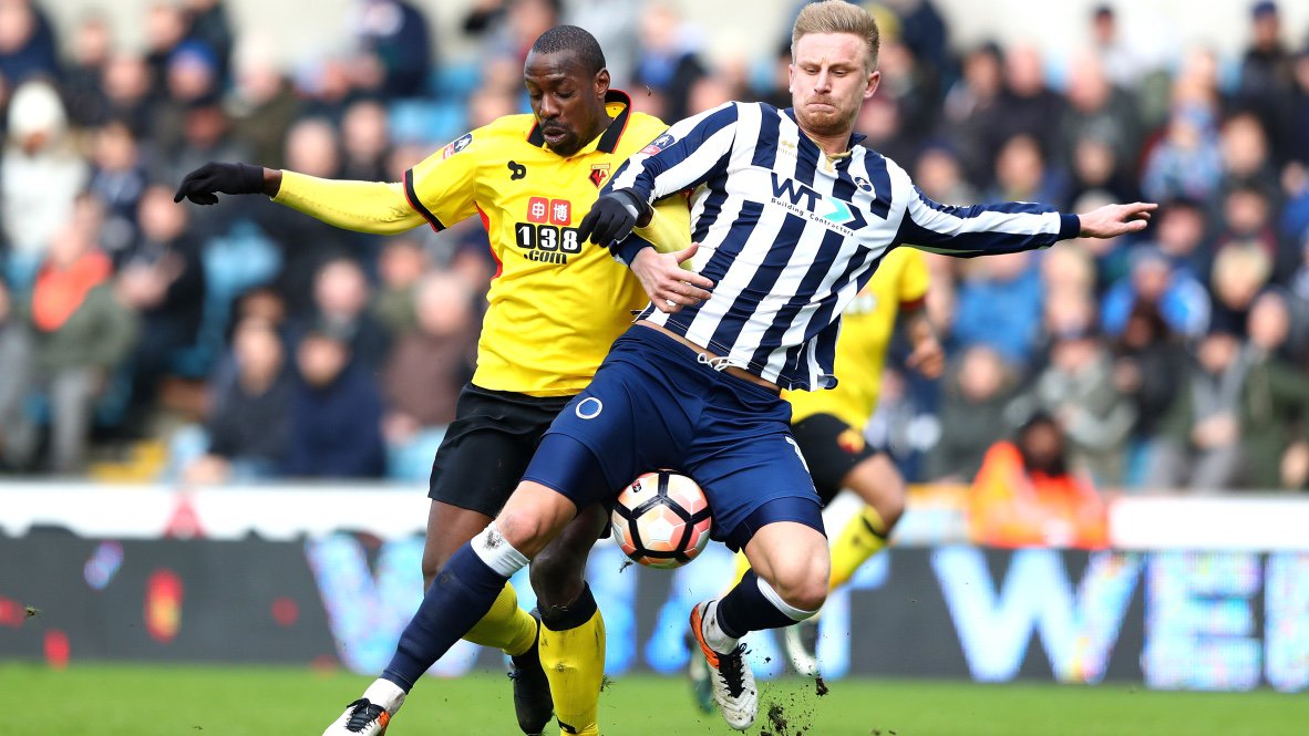 FA Cup: Ighalo Missing As Millwall Stun Watford