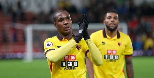 Watford Confirm Ighalo's £20m Move To China's Changchun