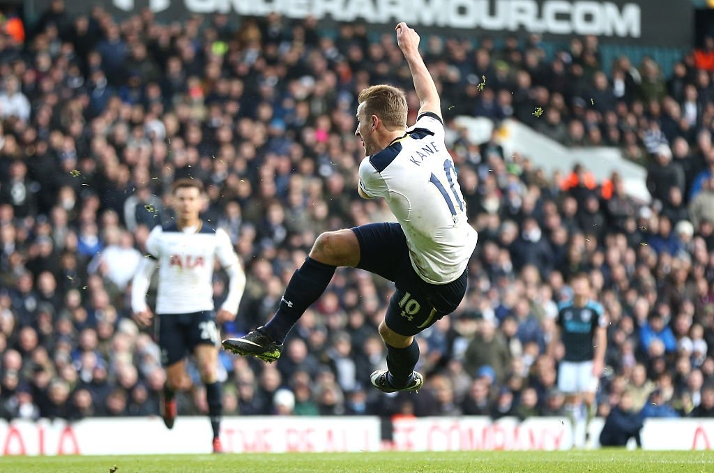 Kane Bags Hat Trick As Tottenham Maul West Brom 4-0
