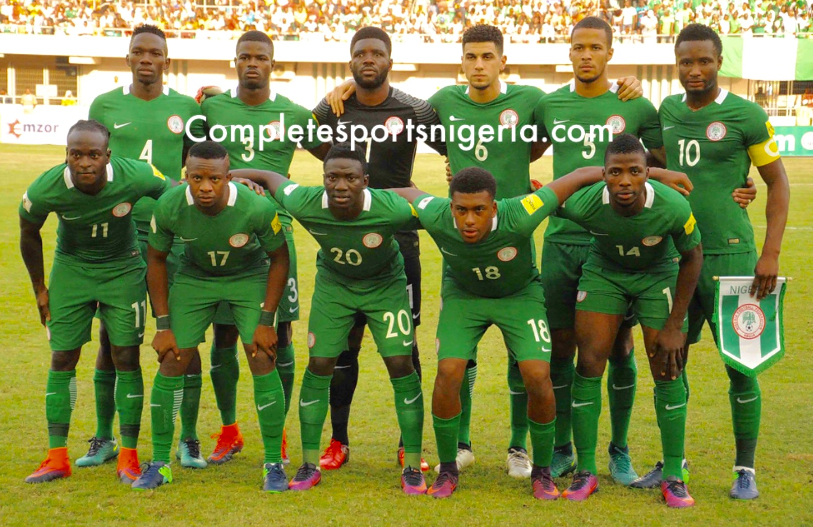 Super Eagles To Wear Black Armbands Vs Senegal In Honour Of Westminster Terror Attack Victims