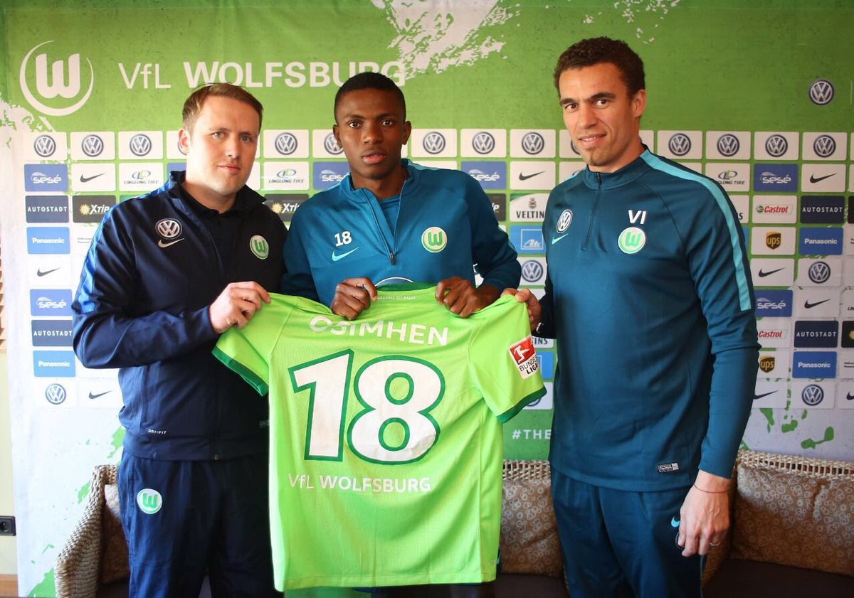Osimhen: Why I Prefer Wolfsburg To Arsenal