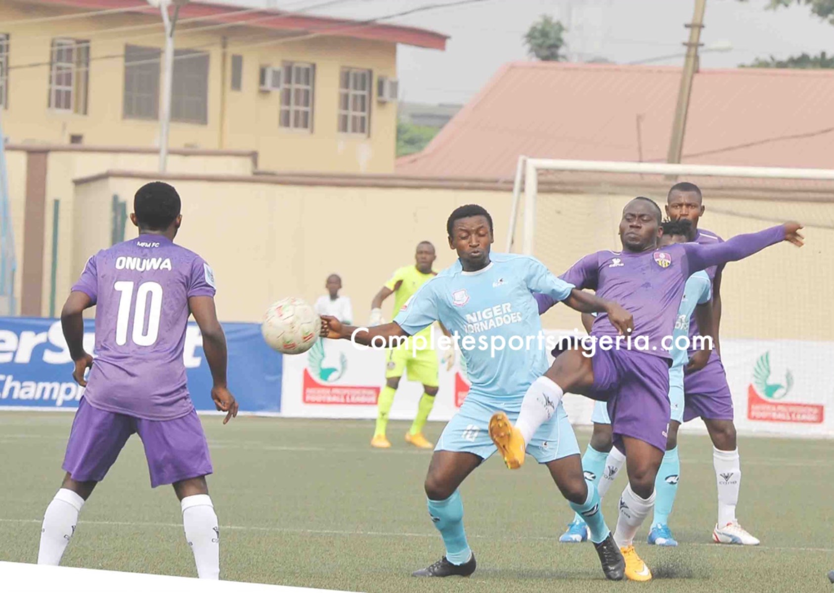 NPFL Players Remonstrate: Congested Fixtures, Astro Turfs Are Killing Us!