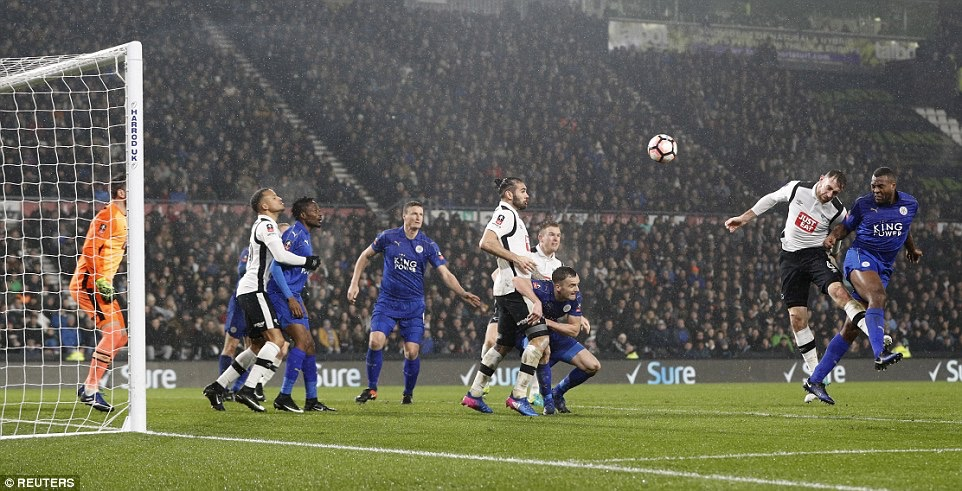FA Cup 4th Round: Musa Subbed On, Ndidi Benched As Leicester Hold Derby