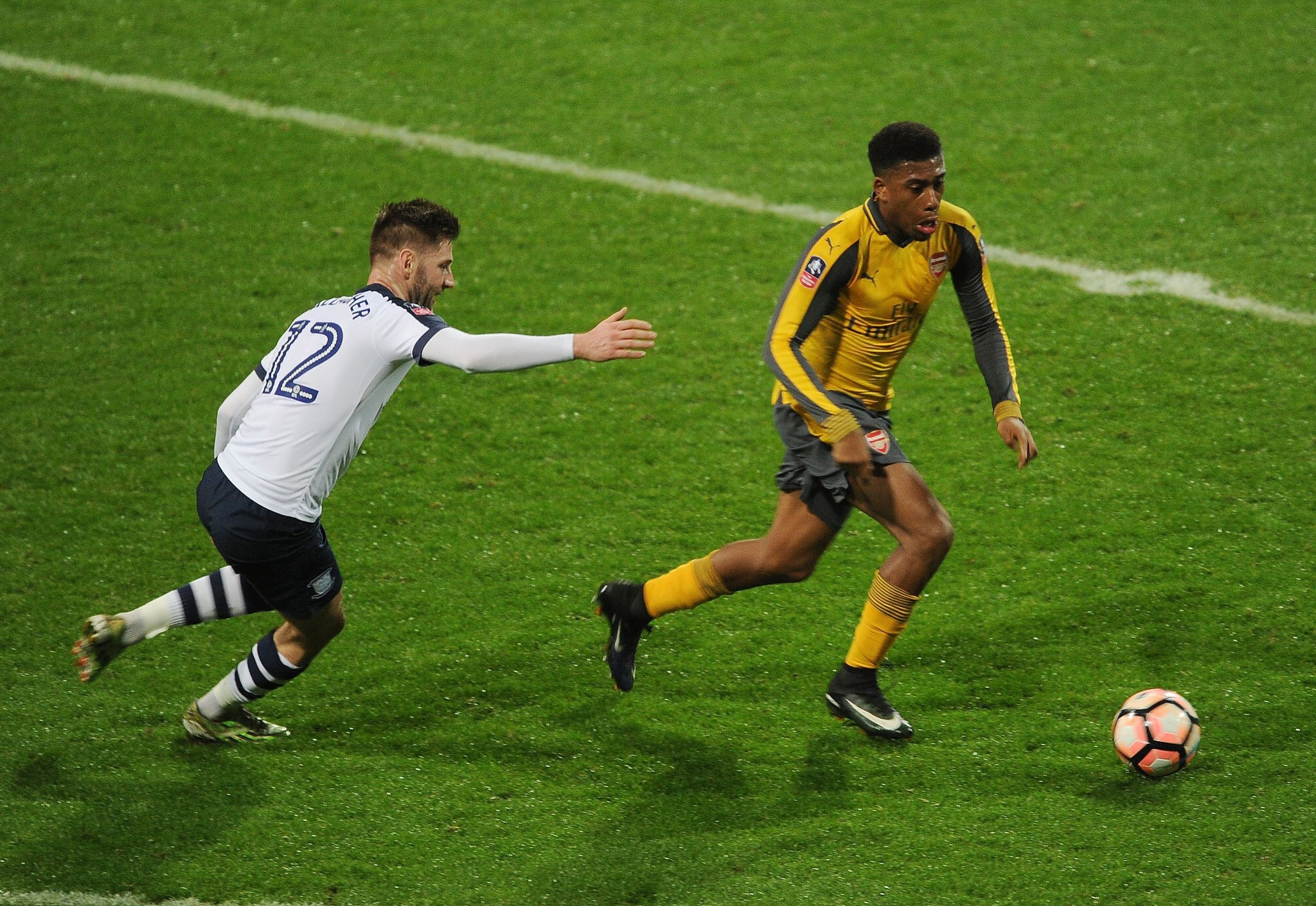 Iwobi Nominated For Arsenal Player of The Month Award For December