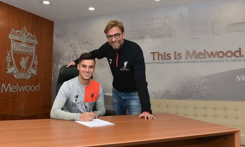 """Countinho: """"Great Honour"""" To Sign New Long-Term Liverpool Deal"""