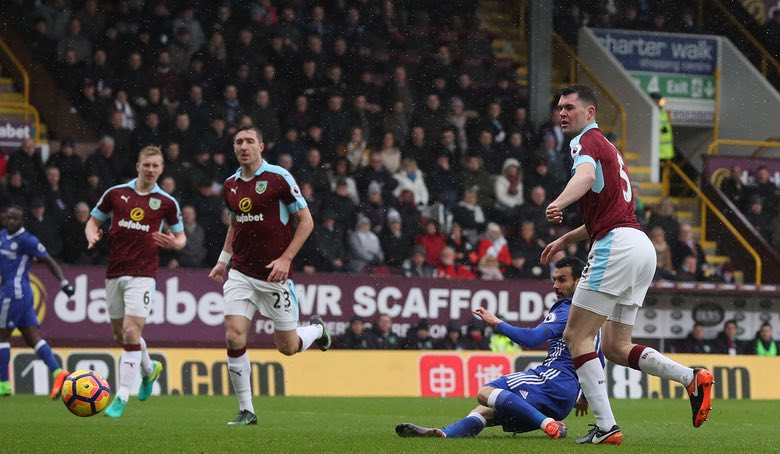 Moses Assists Pedro Goal As Burnley Hold Chelsea
