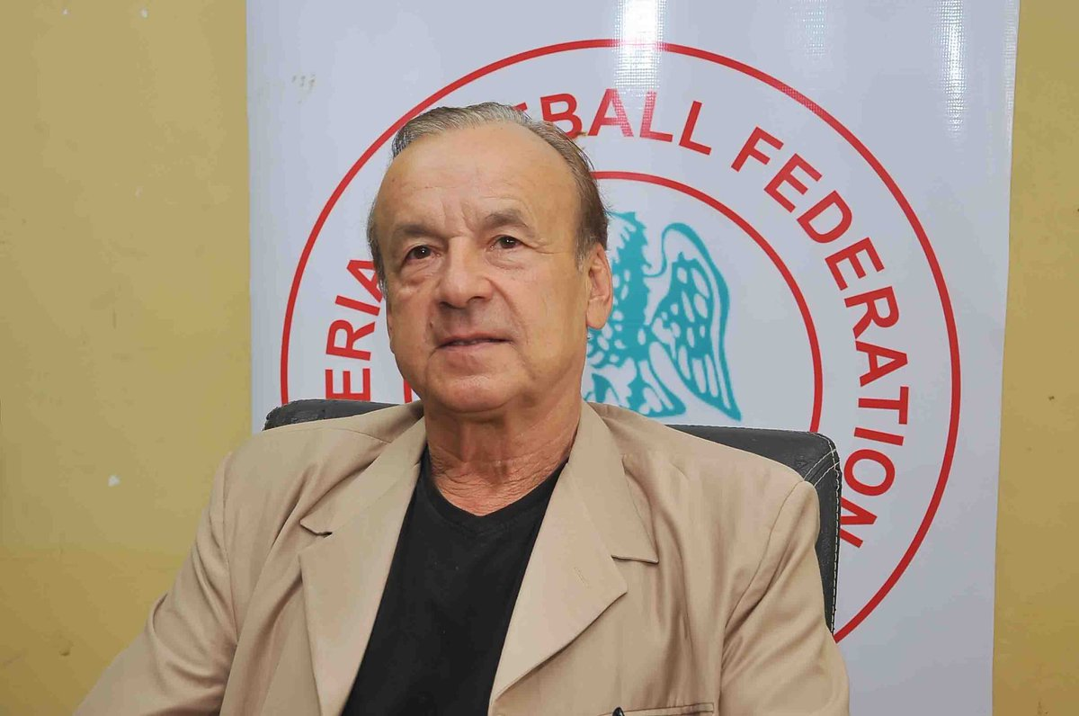 Rohr Sees Bright Future For New Eagles, To Scout NPFL Players
