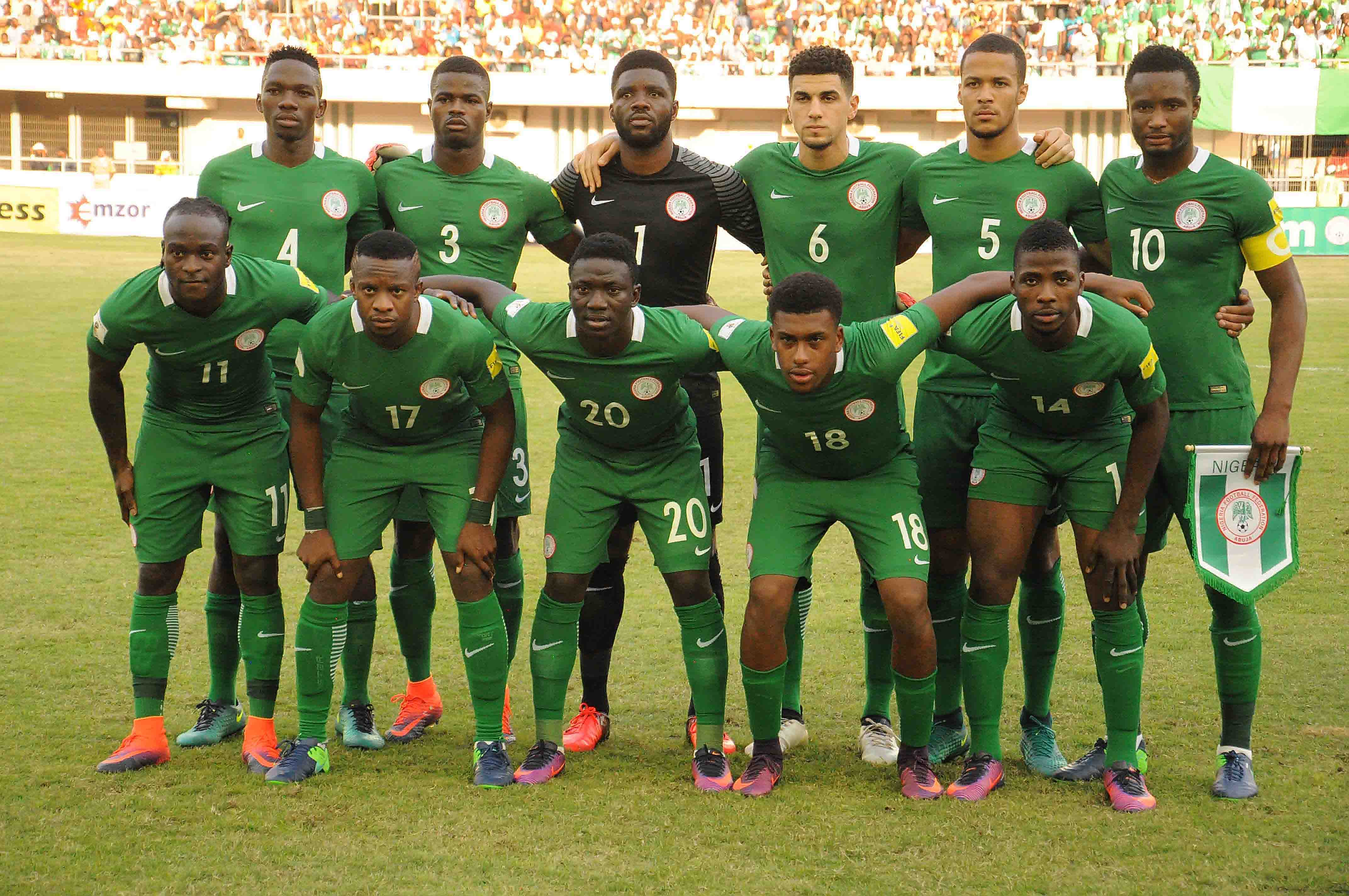 Nigeria Rise Nine Places In FIFA Ranking; Cameroon Jump 29 Spots
