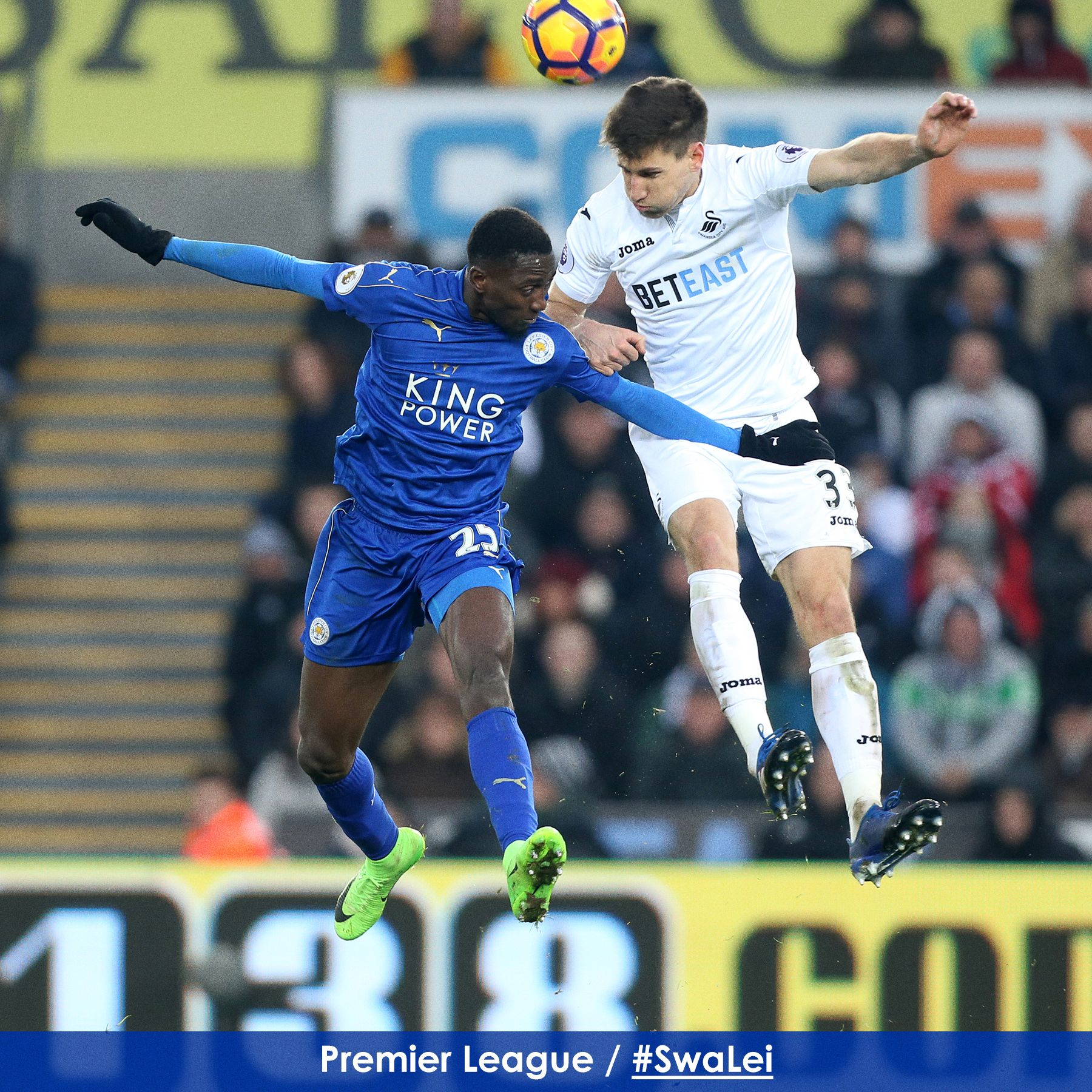 Ndidi In Action, Musa Benched As Swansea Compound Leicester Woes