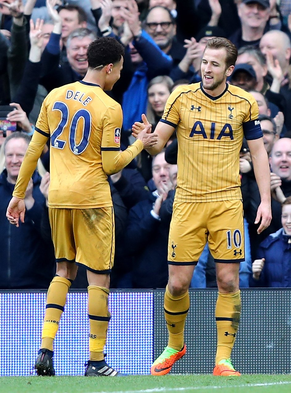 FA Cup: Kane Bags Hat-trick As Spurs Thrash Aluko's Fulham