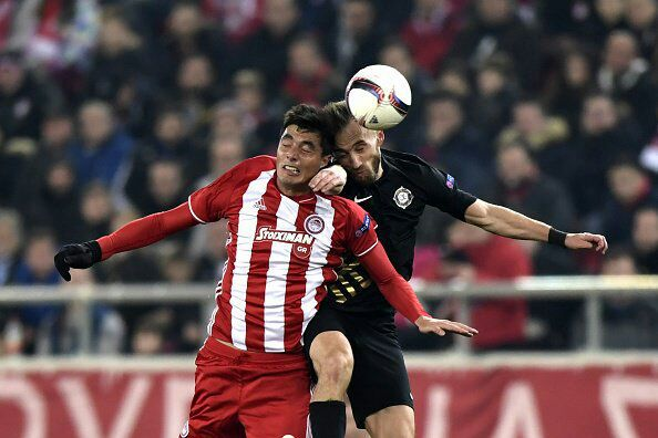 Europa: Umar Missing As Olympiacos Cruise Past Osmanlispor