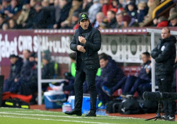 Conte Admits Chelsea Disappointment With One Point At Burnley