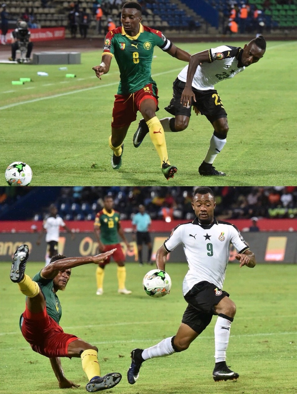 Cameroon Outsmart Ghana To Reach AFCON Final