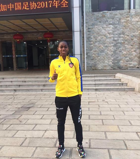 Arsenal Ladies Confirm Oshoala's China Move