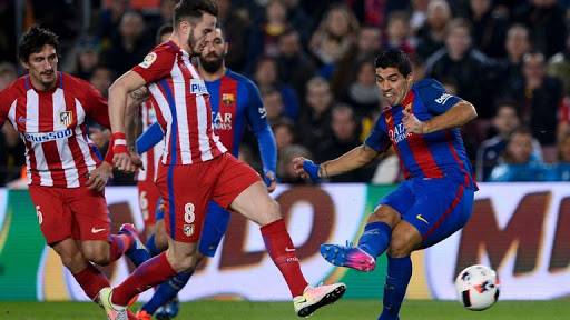 Suarez Scores, Bags Red As Barca Reach Copa Final