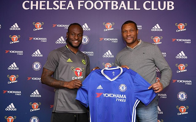 Excited Moses Signs New Two-Year Chelsea Deal