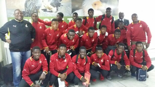Ghana U-17s To Camp In Nigeria Ahead CAF U-17 AFCON