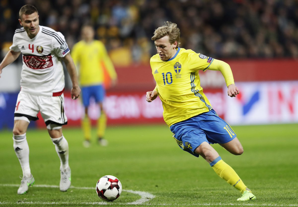 WCQ: Sweden, Bosnia Thrash Belarus, Gibraltar; Switzerland Edge Latvia