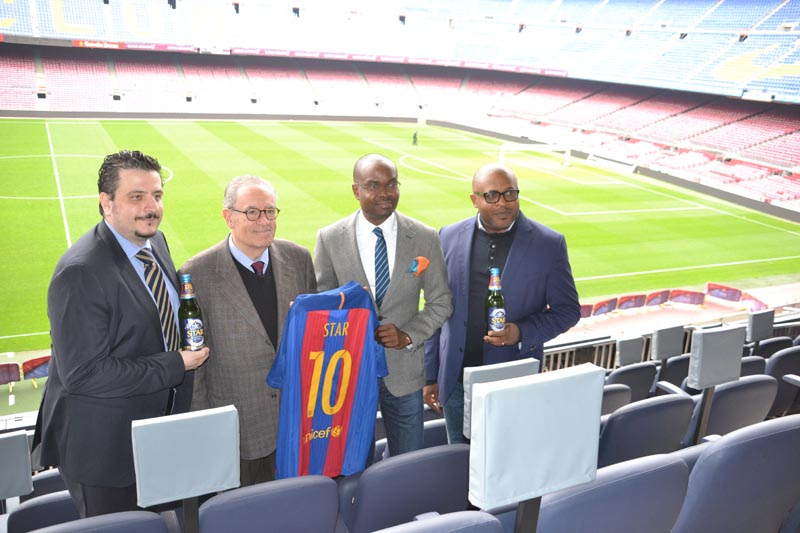STAR Lager Announces Partnership With FC Barcelona