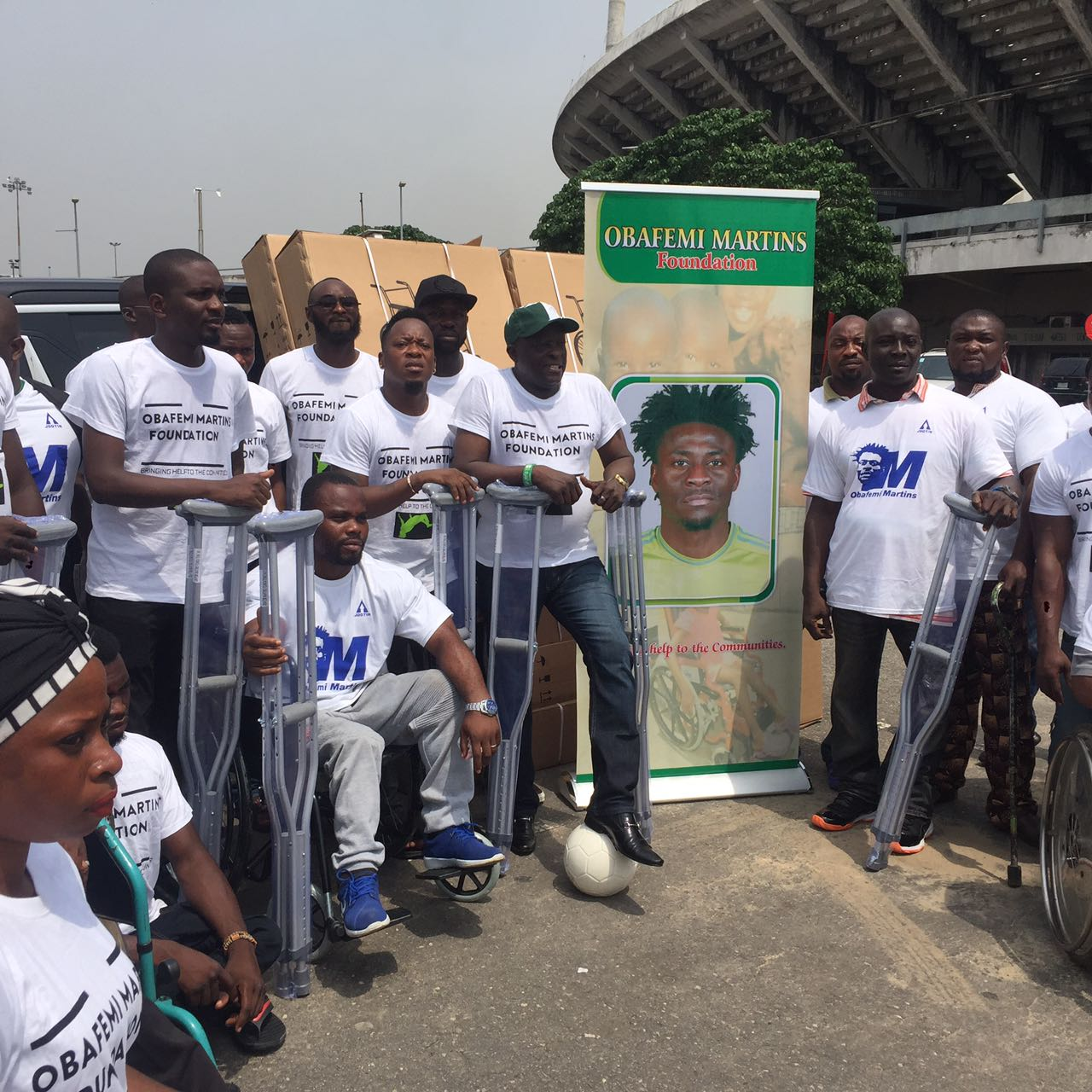 Martins Donates 5,000 Wheelchairs, Crutches To Paralympians, Special Athletes
