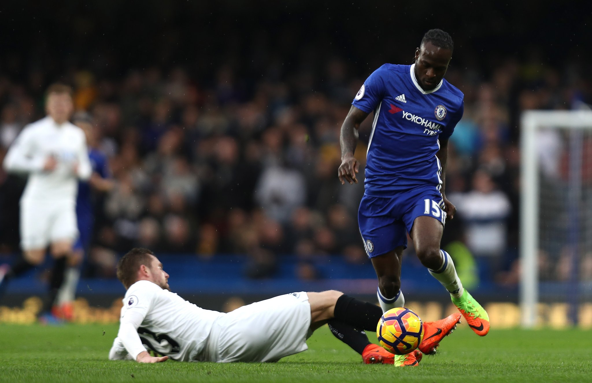 Conte: Moses Now A Complete Player Defensively, Offensively
