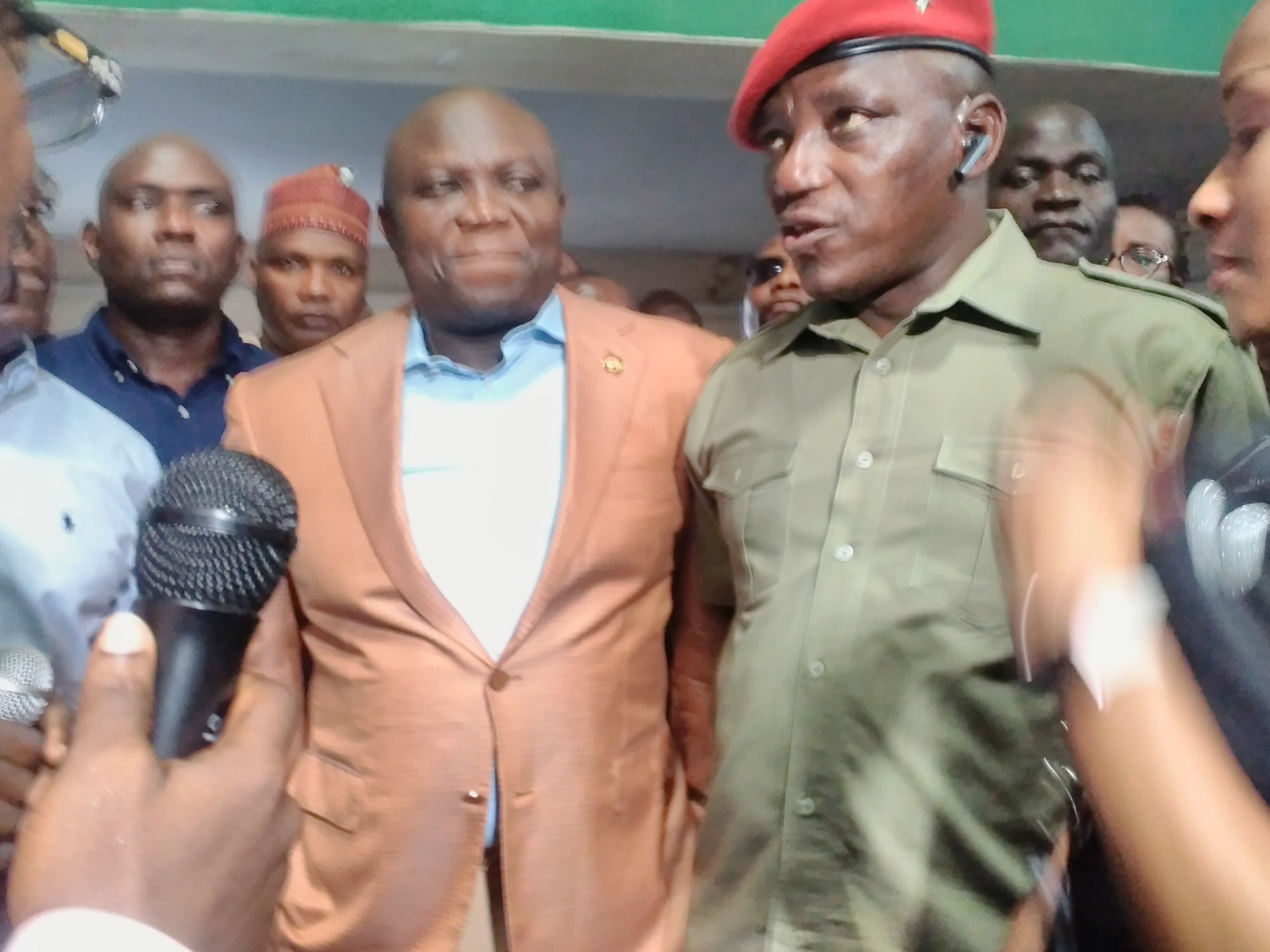 Ambode, Dalung Inspect National Stadium; Minister Promises Lagos'll Host Nigeria Vs Cameroon