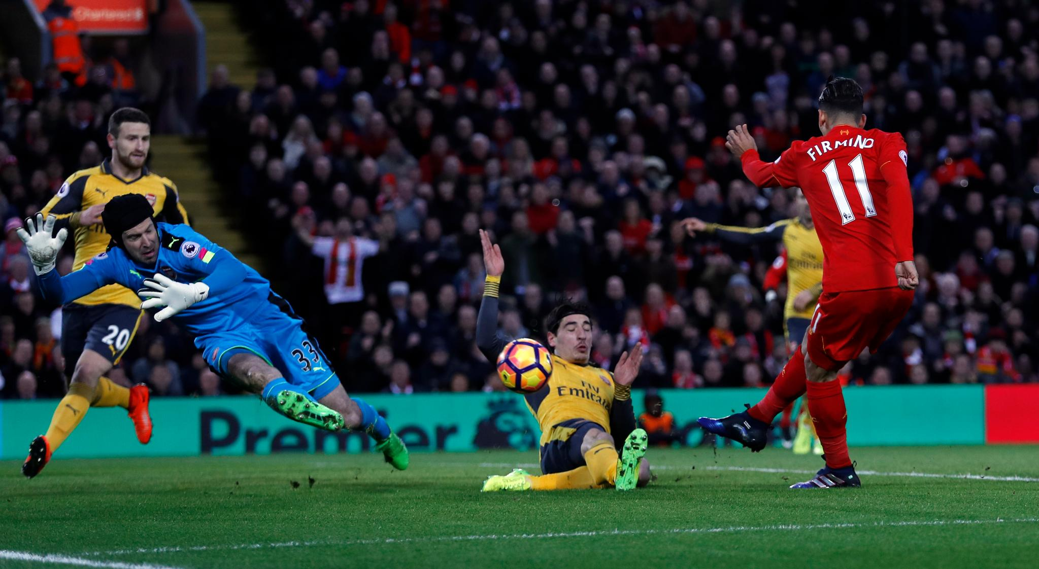 Iwobi Starts As Liverpool Outsmart Arsenal, Overtake Gunners Into Fourth Place