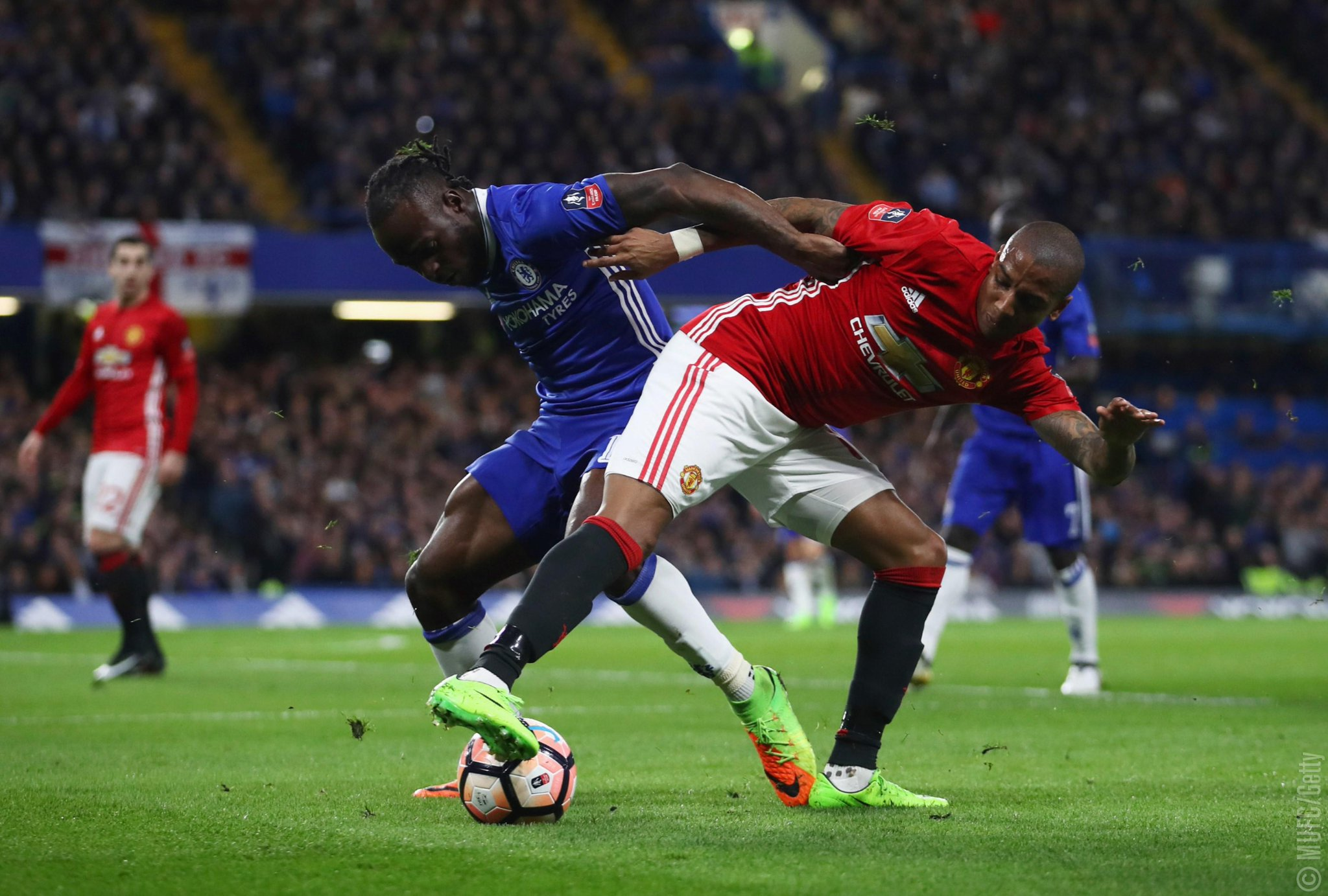 Moses Pumped Up For FA Cup Semi-Final Clash With Spurs
