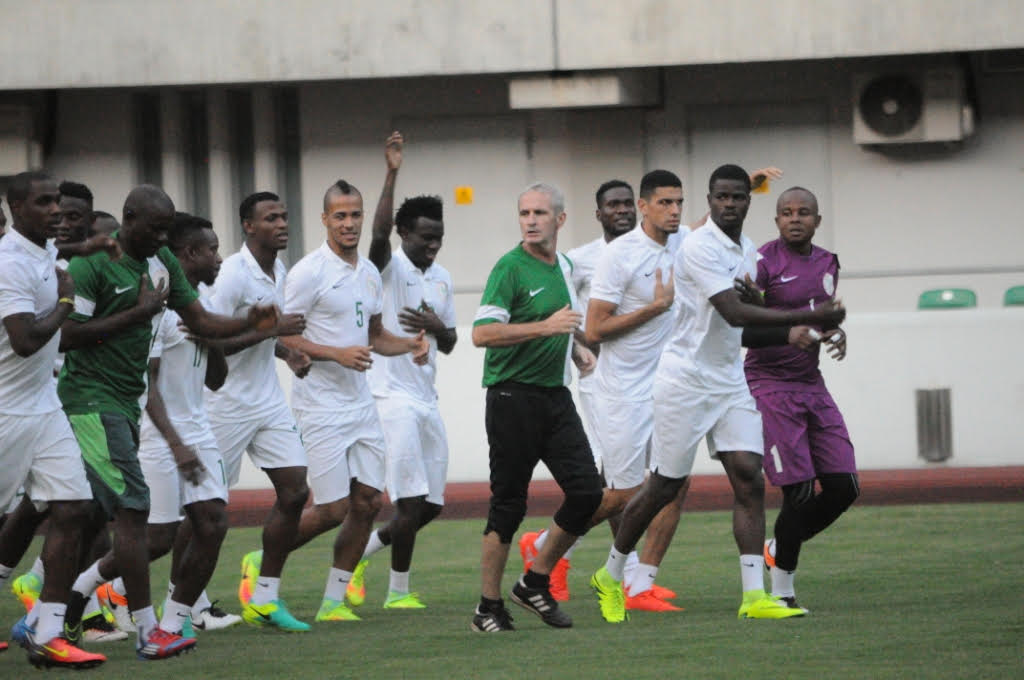 Udeze Backs 'Committed' Eagles To Defeat South Africa, Happy With Draw Vs Corsica