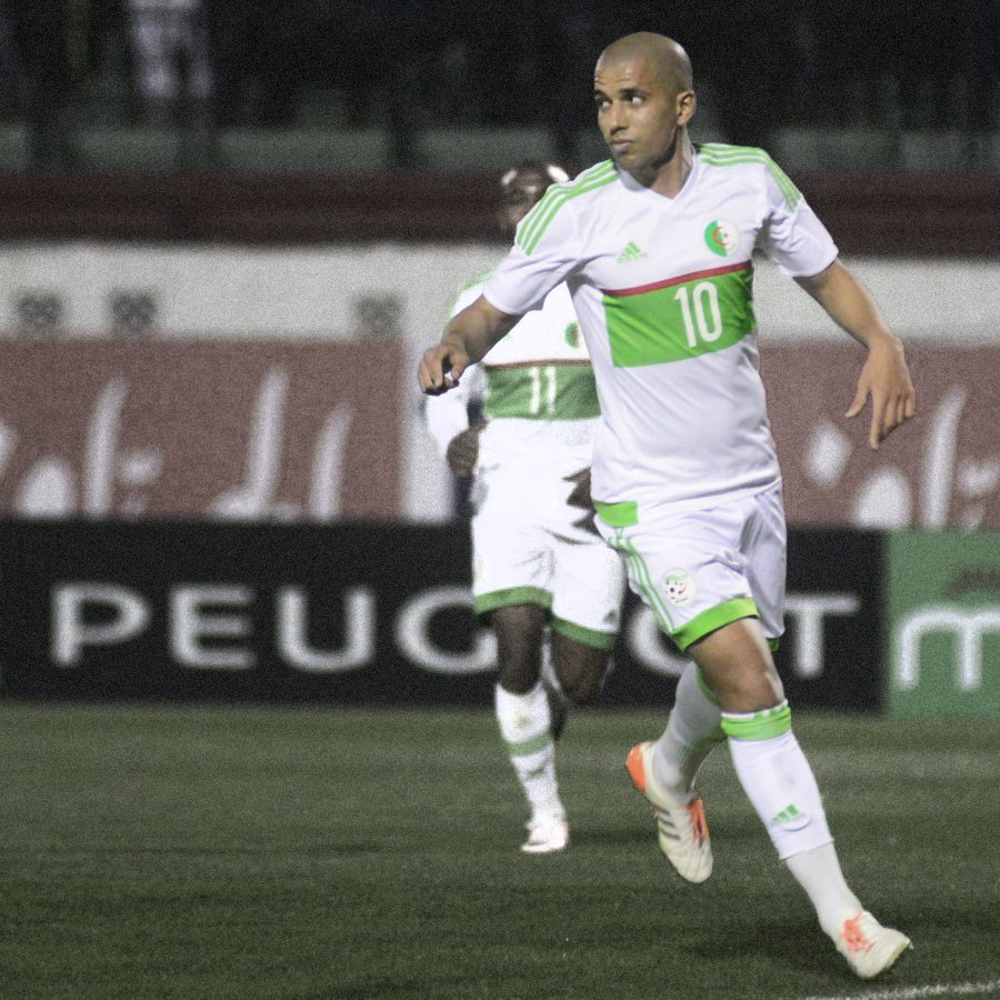 """Algeria's Feghouli Admits Beating Nigeria To Russia 2018 Ticket Is """"Difficult"""""""