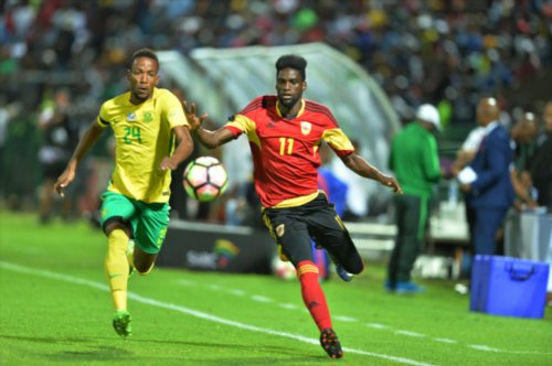 Eagles AFCON Foes BafanaExtend Unbeaten Run With Angola Draw
