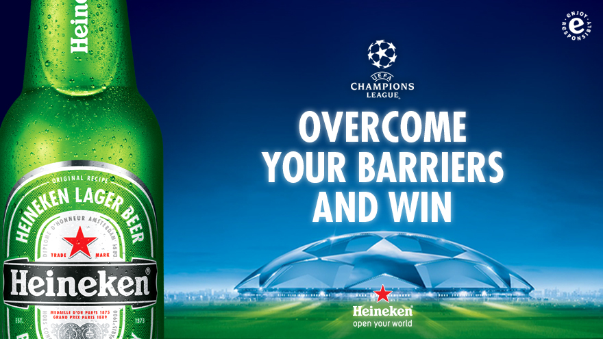 Jose Mourinho Leads The Charge To Overcome All Excuses In The Heineken #NoMoreBarriers Competition