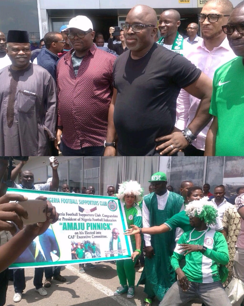 Pinnick: I'll Ensure Nigeria Play Active Role In African Football Development